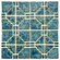 EliteTile Moonlight  Random Sized Porcelain Mosaic in Pacific Blue