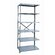 Hallowell Hi-Tech Shelving Heavy-Duty Open Type Add-on Unit with 6 Shelves