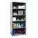 "Hallowell Hi-Tech Medium-Duty Closed Type 87"" H 5 Shelf Shelving Unit Starter"