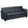 Basyx by HON Three Seat Leather Sofa