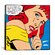 iCanvas Why Carry on about It II - (Roy Lichtenstein - Comic Books) Canvas Wall Art