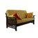 LifeStyle Solutions Manila Futon Convertible Sofa