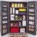 "Quantum Storage 78"" H x 48"" W x 24"" D Wide Welded Storage Cabinet"
