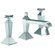 Fima by Nameeks Mp1 Double Handle Horizontal Spray Bidet Faucet