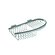 Geesa by Nameeks Basket Compact Soap / Sponge Holder in Chrome