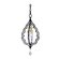 Corbett Lighting Bijoux 1 Light Pendant