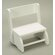 Gift Mark Small Flip Stool and Chair in White