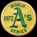 National Emblem MLB World Series Logo Patch
