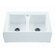 "Reliance Whirlpools Reliance 33.25"" x 22.25"" Appalachian Double Bowl Kitchen Sink"