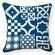 Naked Decor Turkish Tiles Pillow
