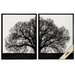 <strong>Propac Images</strong> The Tree 2 Piece Framed Graphic Art Set