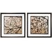 <strong>Propac Images</strong> Dogwood Square 2 Piece Framed Graphic Art Set
