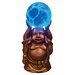 "Budda Electra 12"" H Table Lamp"