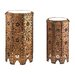 <strong>Sterling Industries</strong> 2 Piece Moroccan Side Table Set
