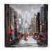 Sterling Industries Paris Scene Oil Painting Print on Canvas