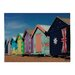 <strong>Beach Hut Graphic Art on Canvas</strong> by Sterling Industries