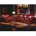<strong>Omnia Furniture</strong> Torre 4 Seat Leather Living Room Set