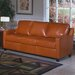 Chelsea Deco Leather Sleeper Sofa