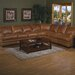 <strong>Pantera Leather Sectional</strong> by Omnia Furniture