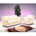 <strong>Salerno 4 Seat Leather Living Room Set</strong> by Omnia Furniture