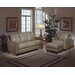 <strong>Omnia Furniture</strong> Skyline 3 Seat Leather Sofa Set