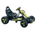 Stealth Pedal Powered Go - Kart in Black
