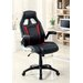 <strong>Street Racer Office Chair with Arms</strong> by Hokku Designs