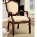 Bernetta Cotton Arm Chair by Hokku Designs