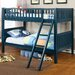 <strong>Hokku Designs</strong> Oceania Twin Over Twin Bunk Bed with Ladder