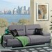 <strong>Camberg Plush Sofa</strong> by Hokku Designs