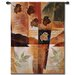 <strong>Abstract Autumn Medley I by Keith Mallett Tapestry</strong> by Fine Art Tapestries