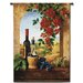 Fine Art Tapestries Classical Patio View by Di Giacomo Tapestry