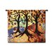 Fine Art Tapestries Abstract Trinitary by Natasha Wescoat Tapestry
