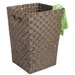 Whitmor, Inc Java Woven Hamper with Handles