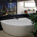 "<strong>Idea 59"" H x 25.25"" W Freestanding Acrylic Bathtub</strong> by Aquatica"