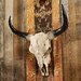 <strong>Design Toscano</strong> Long Horn Steer Wall Trophy