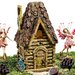 Woodland Fairy Garden House Statue