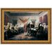 Declaration of Independence, 1817 Replica Painting Canvas Art