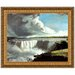 View of the Western Branch of the Falls of Niagara, 1802 Replica Painting Canvas Art