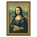 <strong>Design Toscano</strong> Mona Lisa, 1503-1506 by Leonardo da Vinci Framed Painting Print