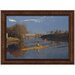 The Champion Single Sculls, 1871 Replica Painting Canvas Art