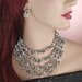 <strong>Design Toscano</strong> Night on the Town Necklace and Earrings Ensemble
