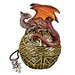 Shield of the Celtic Orb Dragon Statue