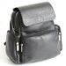 Vaquetta Nappa Knapsack in Black