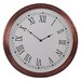 <strong>Fall Metal Round Dial Clock</strong> by Barreveld International