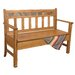 <strong>Sunny Designs</strong> Sedona Wood Storage Bench