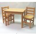 Just For Kids 3 Piece Table and Chair Set by Apple Furniture