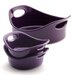 <strong>Rachael Ray</strong> Bubble and Brown 3-Piece Small Round Baker Set