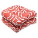 <strong>Pillow Perfect</strong> Carmody Wicker Seat Cushion (Set of 2)