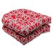 <strong>Pillow Perfect</strong> Keene Wicker Seat Cushion (Set of 2)